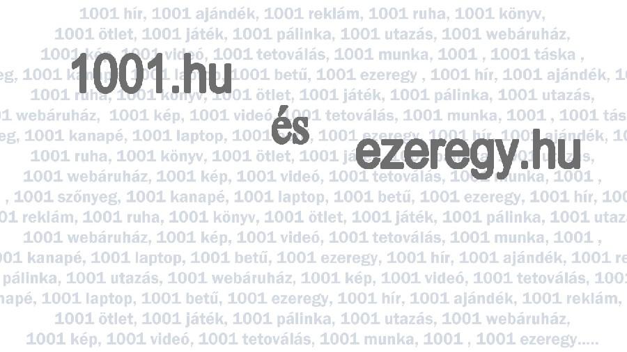 Eladó domain név 1001.hu és az ezeregy.hu