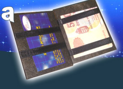ed3cc27216 Reklámtárgy - Varázs pénztárca - Egy varázslatos reklámtárgy